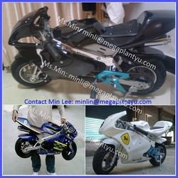 Gas engine 49CC mini moto for kids