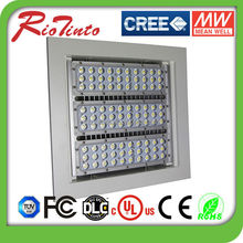 High Lumen Aluminum material 150w led parking garage canopy light IP65 by ce&saa approved