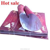 Cheap leaflet flyer voucher color printing for sales promotion