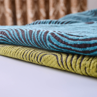 Cheap 100% Polyester Dobby Upholstery Fabric