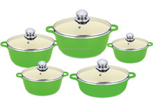 10pcs enamel cookware