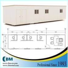 China prefabricated 40 ft container office for UAE -2