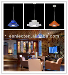 New design lanfu white Highlighted indoor led pendant light