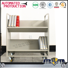 2015 service equipment library serving book hand trolley
