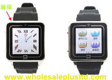 Quadband Touch Screen Watch Cell Phone with Single SIM+ Bluetooth+Camera(WP-TW208)