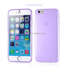 Best Quality Top Selling Factory Cheapest Crystal Clear Transparent Soft Silicon 0.3mm TPU Case for iPhone 6 6 plus Back Cover