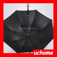 UCHOME New Design Skull Umbrella Skeleton Handle Rain Sun Umbrella