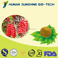 natural fructus schisandrae chinensis fruit P.E. powder has tranquilization function