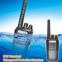 400-470mhz 136-174mhz uhf vhf IP67 waterproof 5w two way radio cheap kyd radios