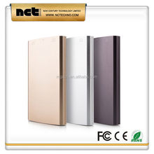Top level best-selling power bank metal surface
