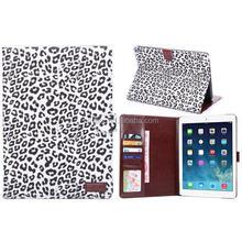 For Apple iPad Air 2 Leopard Leather Sleeve