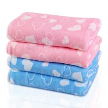 absorbent bright colored thick microfiber wholesale bath towels size 70cm*140cm