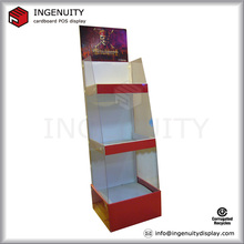 4C printing acrylic with recycling cardboard display