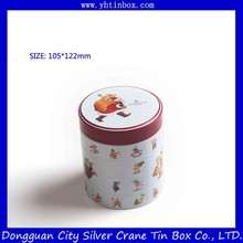 metal candy tin box/tin container for candy