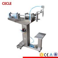F3-1200 semi auomatic spare parts beverage filling machine