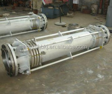 reinforced corrugated stainless steel metal bellows pipe expansion joint/compensator