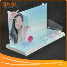 Professional producing acrylic cosmetic display stand. Integration of Industry and Trade for 17 years
