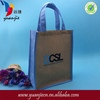 Popular useful custom useful jute tote bags