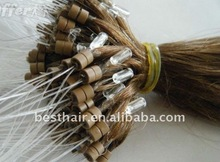 Grade AAA+ colorful micro ring hair extension excellent price
