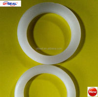 white and clear silicone 43.6*60*6mm shore A 60 gasket