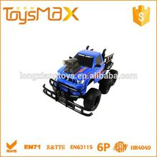Hot sellers Six Wheels Blue rc model car