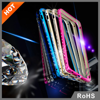 Jules.V factory wholesale mobile phone case cell phone in metal case for iPhone 6 plus