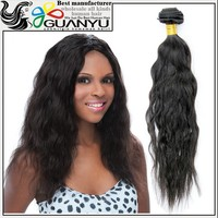 Wholesale best quality low price Natural Wave Human Hair, 2015 Best Selling Unprocessed virgin Peruvian natural wave hair weaves