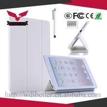 2 In 1 Genuine Leather Folio Stand Case for Ipad Mini Smart Case Luxury