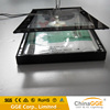 Small quantity order black light frame light poster with metal profiles