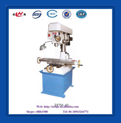 small vertical drilling and milling machine tool
