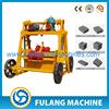 plans house manual fly ash brick making machine cost QT40-3B