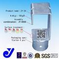 Colgando de apoyo para la pipa combination|metal clamp|rust protección conector( jy- 34)