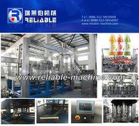 High Performance Fruit Juice Hot Filling Machine/Bottling Line
