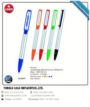 Pen with finger Ball Pen with highlighter (Lu-8297)