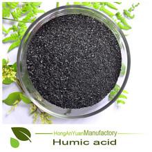 Heno 20-45% de ácido húmico 100% naturaleza fertilizantes para agricuture