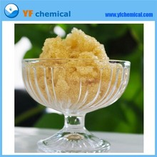 China Gel strong acid cation 001x8 pine resin for sale