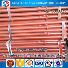SS Group Tianjin China Top products material building props,telescope construction props,formwork scaffolding props