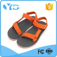 comfort summer beach flat woman sandal for 2014