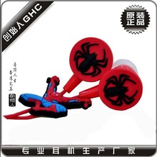 Spiderman earphones for promotion , cheap gift earbuds , customized design earphone