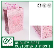 Colorful promotional cheap custom non woven bag,non woven shopping bag