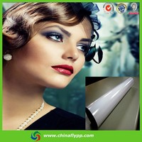cheap price rc coated high glossy pp film, water resistant pp film