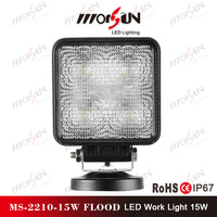 12V led work light 15W led work lamp , Flood led working light for cars,trucks,boats,ships,jeep,suv