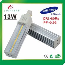 3 years warranty 13w pl led light, factory price g24 pl led, plc 4 pin led g24 lamp