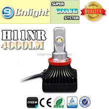 Cnlight YiKe Auto Auctions Led Car Light h11 h7 h4 replacement bulb