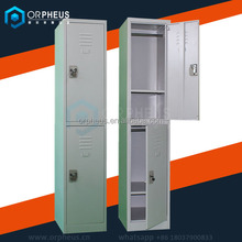 Cheap Metal Furniture delivery quickly swimming pool lockers custom 2 door metal locker with KD structure