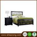 Hotel habitación individual muebles cama de madera con la talla TRBD-355