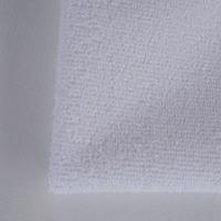 big looped pile waterproof cotton fiber terry cloth fabric laminated TPU