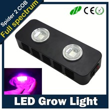 NEW design spider 2 series 2X COB best smoll tant led grow light, plant light