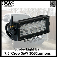 Jeep And Truck 7.5inch 12V Strobe 36W Led Work Light Bar
