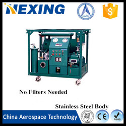 China Aerospace Tech Waste reuse!!! 2015 cost-effective of waste engine oil purifier/black used oil cleaning machine/ship oil